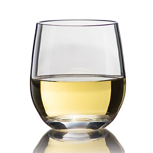 Game Changer Unbreakable Stemless Wine Glasses | Style,