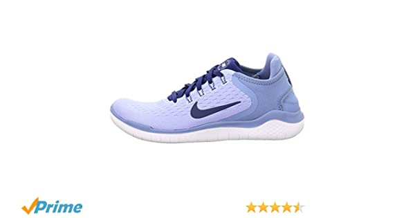 wholesale dealer f4b57 c5b55 Amazon.com Nike Womens Free Run 2018 Running Shoes (7 B US, AluminumBlue  VoidWork BlueWhite) Sports  Outdoors
