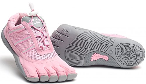 Fut Glove Women's Zum Five Toe Shoes (35 M EU / 5-5.5 (B)M US, Pink)