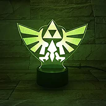 Lighting Decoration in Home The Legend of Zelda LED Night Light with   Decorative Lamp for Children Kids Gift Night Light Zelda Bedroom Lamp