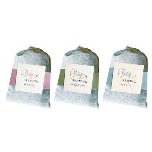 Amazoncom A Baby Is Brewing Shower Tea Bag Favors Sets Of 9 For