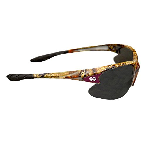 Mississippi State Bulldogs Team Glass - Purchadise NCAA Camouflage Sunglasses - UVA and UVB Protection-Many Teams! (Mississippi State Bulldogs)