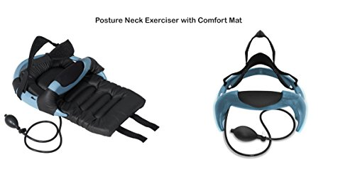 Posture Neck Curve Restorer Exerciser Cervical Disc Spine Hydrator Pump || Relief for Stiffness, Relives Neck Pain with Comfort pad by Mi TrendZ
