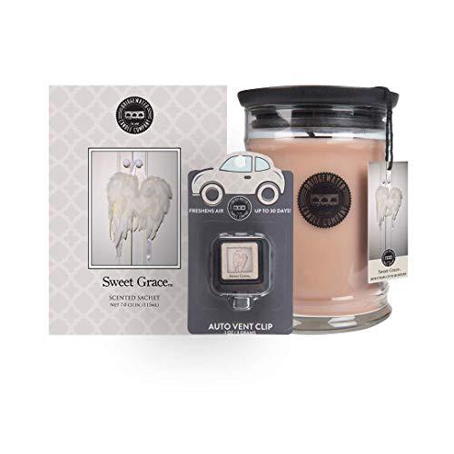 Bridgewater Sweet Grace - Candle, Sachet & Auto Vent Clip Bundle