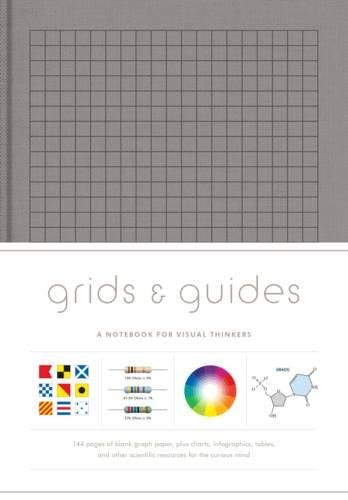 Grids & Guides (Gray): A Notebook for Visual - Gray Notebook