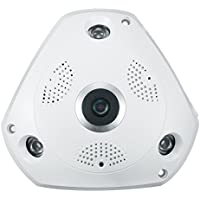 IP Camera, EIVOTOR HD 1080P Indoor Home Wireless WiFi Security Camera with 360° Wide-Angle Viewing, Night Vision, Motion Detection, Baby Monitor