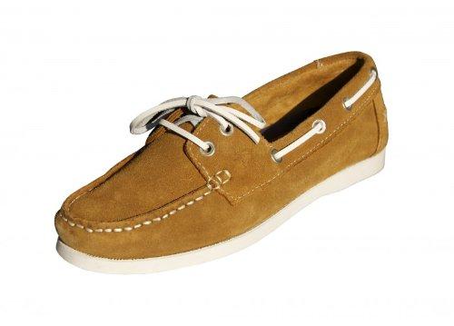 Baltic Star Chaussures loisirs Femme 2 Eye Nubuk marron clair