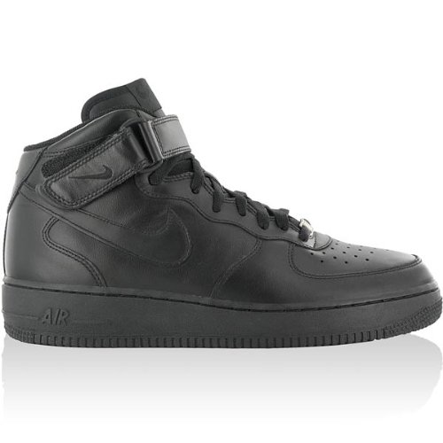 huge discount ba3b9 07971 Galleon - Nike AIR FORCE ONE 1 MID 07 41-48.5 NEW 110 Classic Jordan Dunk  Delta Flight Ma, EU Shoe Size EUR 48.5, Color black
