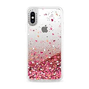Casetify Glitter Case Rose Gold for Apple iPhone XS/X