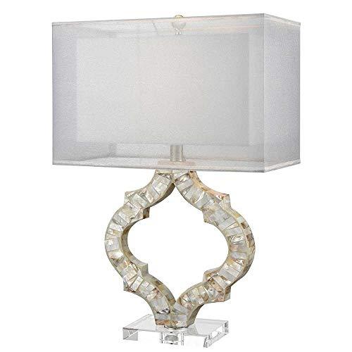 Elk Lighting D3327 San Sebastian Table Lamp Natural Mother of Pearl (Lamp Pearl Shade Mother Of)