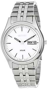Seiko Men's SNE031 Stainless Steel Solar-Powered Watch
