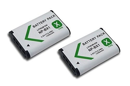 High Capacity - 2 x Rechargeable Battery for Sony Cyber-Shot Digital...