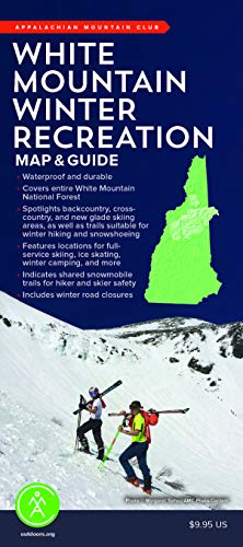 White Mountain Winter Recreation Map & Guide
