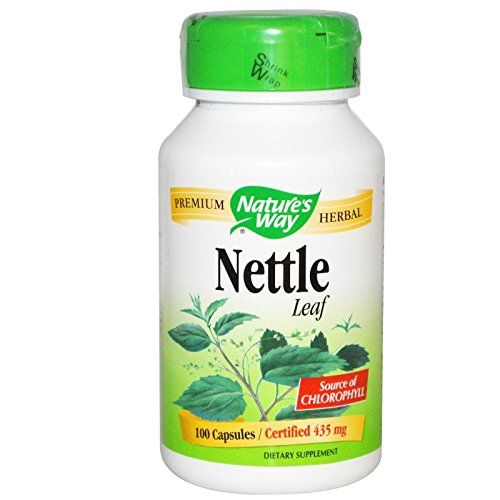 Nettle Herb Nature's Way 100 Caps (Freeze Leaf Dried Nettle)