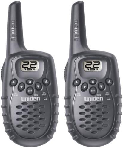 2 Uniden Walkie Talkie Long Range Two-Way Radio GMRS//FRS 20 Mile Radios intercom