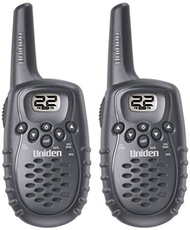 Pair Uniden GMR325-2 3-Mile 22-Channel GMRS//FRS Two-Way Radios