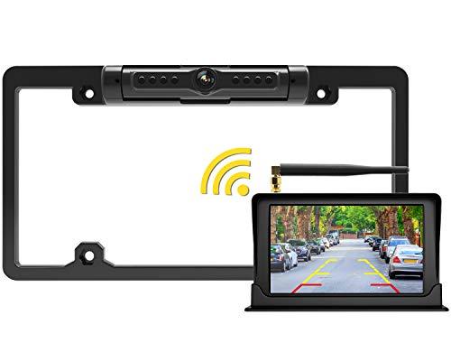 FOOKOO Wireless Backup Camera and Monitor Kit 5