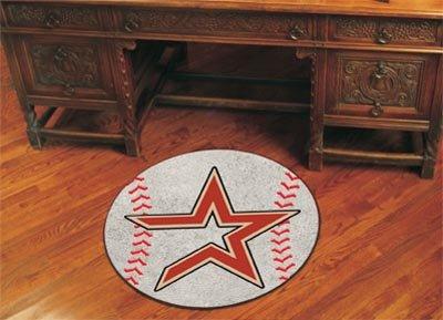 Baseball Houston Astros Mat Rug (Fanmats MLB - Houston Astros Baseball Mat/27 Diameter)