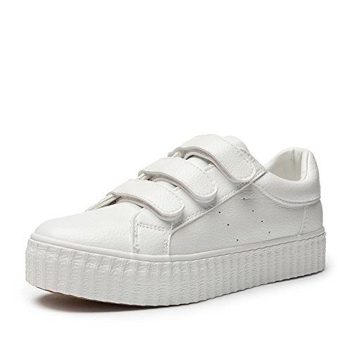 Weiß B Damen Freizeitschuhe Schuhen Mit Flachen 6H5ZnxYqZw