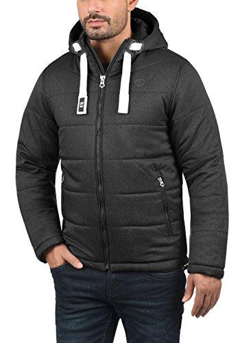 solid Veste Black Homme Pour D'hiver Capuche D'extérieur Blouson 9000 Bendix À qpHr7qgS6