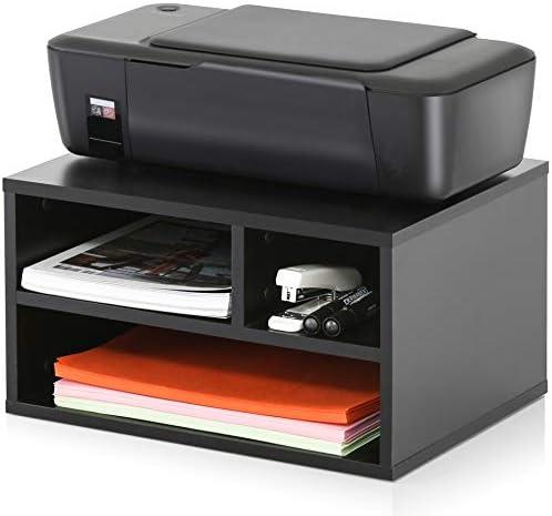 FITUEYES Printer Storage%EF%BC%8CWorkspace Organizers Office%EF%BC%8CBlack%EF%BC%8CDO304001WB
