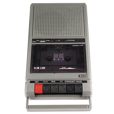 Portable Four-Station Listening Center Audio Cassette Recorder, Sold as 1 Each by Amplivox