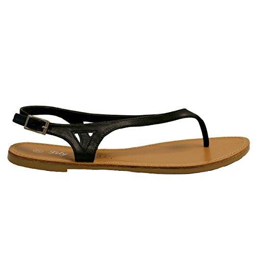 Lily Shoes - Sandalias para mujer negro