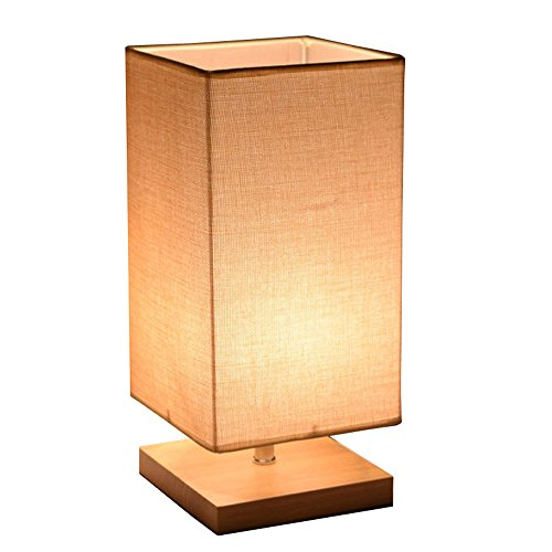 Cheap  Surpars House Minimalist Solid Wood Table Lamp Bedside Desk Lamp