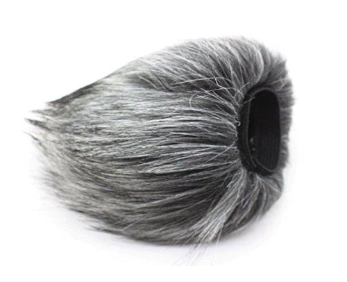 CEARI WM22 Outdoor Furry Microphone Mic Windscreen Wind Muff for TASCAM DR-22WL DR22WL Recorder