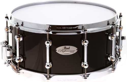 Pearl Reference Pure Series Snare Drum - 14'' x 6.5'' Piano Black