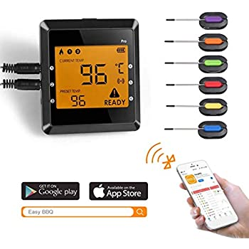 Amazon Com Meat Thermometer Wireless Bluetooth Cooking