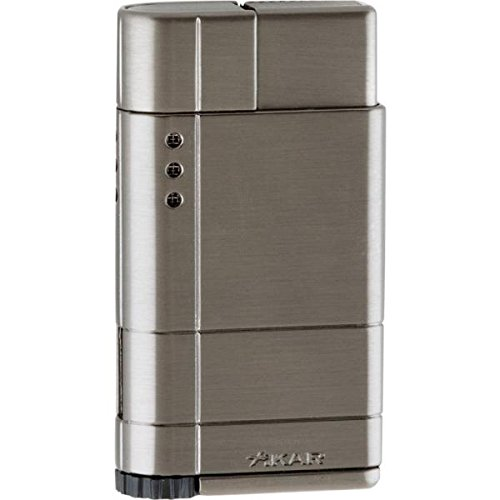 - Xikar Cirro High Altitude Lighter with Turbo Flame, Works at Up to 12,000 Feet Above Sea Level, Gunmetal