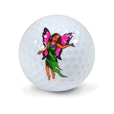 Nicks Underground Novelty Golf Balls - Fairy Tales 3 Pack Display Tube #NUG4