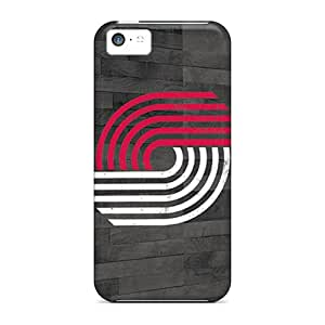 Premium Protection Portland Trail Blazers Case Cover For Iphone 5c- Retail Packaging