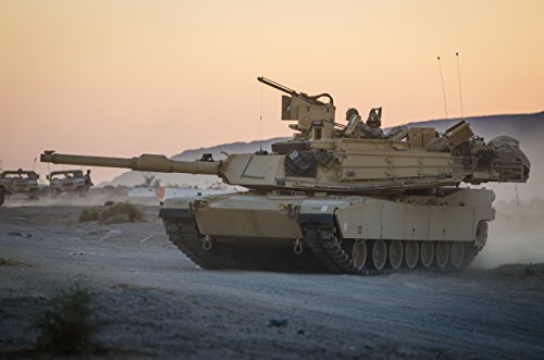 (Home Comforts Laminated Poster an Oregon Army National Guard M1A2 Abrams Tank from 3rd Battalion, 116th Cavalry Regiment, scans for Vivid Imagery Poster Print 24 x 36 )