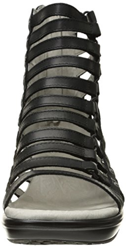 Jambu Women's Brookline Wedge Pump, Black, 9.5 M US by Jambu (Image #4)