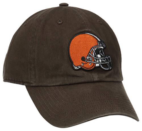 '47 NFL Cleveland Browns Clean Up Adjustable Hat, Brown, One Size Fits All Fits (Vintage Baseball Teams)