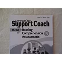 Common Core Support Coach, Target: Reading Comprehension, Assessments, Grade 5