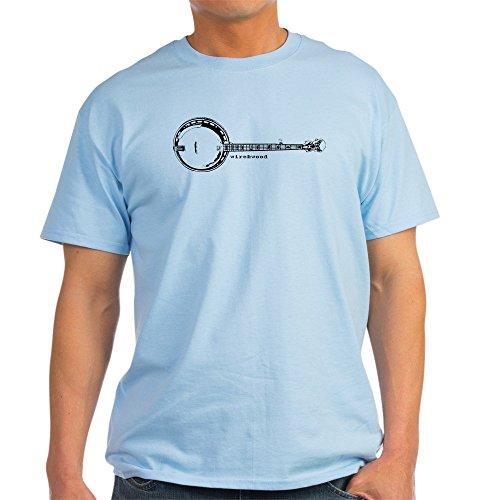 CafePress Wire&Wood Banjo - 100% Cotton T-Shirt -