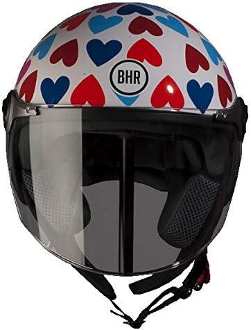 Bhr Helm Demi Jet Modell 710 Herz 53 54 Auto