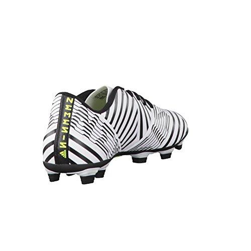 adidas Nemeziz 17.4 Fxg, Zapatillas de Fútbol para Hombre Multicolor (Ftwr White/solar Yellow/core Black)