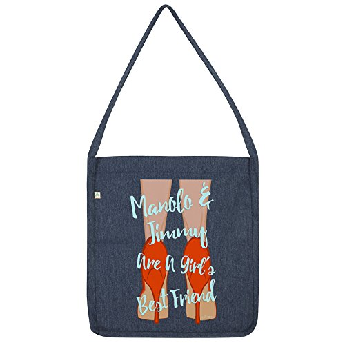 Manolo A Jimmy Navy Envy Are Girl's Twisted amp; Tote Best Friend Bag 5FXBwqxqZP