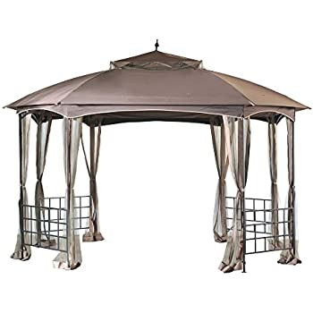 Amazon Com Outsunny Round Outdoor Patio Canopy Party