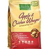 VitaLife All Natural Dog Treats - Apple & Chicken Wraps 454g (16 oz)