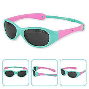 Boys Girls Kids 0-3 Years Old Toddler Polarized UV Protection Sunglasses NSS0701 (babyblue)