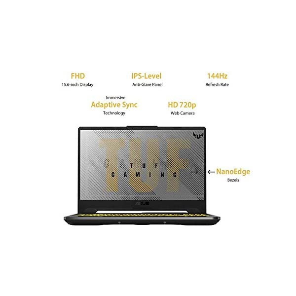 "ASUS TUF Gaming A15 Laptop 15.6"" FHD 144Hz,яуzєη 9 4900н, GTX 1660Ti 6GB Graphics (16GB RAM, 1TB HDD +512GB SSD, Windows 10, 2.30 Kg) Fortress Gray FA566IU-HN254T -  - Laptops4Review"