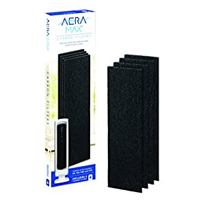 AeraMax 100 Air Purifier  Authentic Carbon Replacement Filters - 4 Pack (9324001)