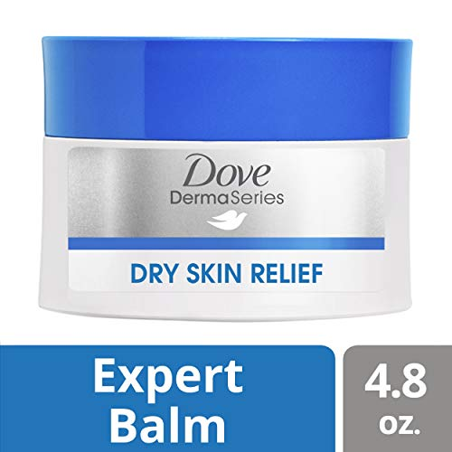 Dove DermaSeries Fragrance-Free Skin Balm, for Dry, Cracked Skin, 4.8 oz