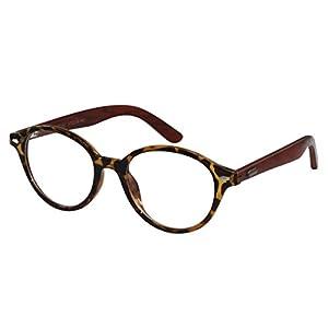 Ebe Prescription Eye Glasses Online Round Frame Great Look +2.50