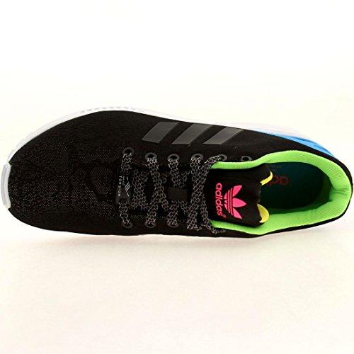 Adidas Mens Zx Fluks Joggesko Lys Onix / Sol Grønne M21311 Svart / Grønn